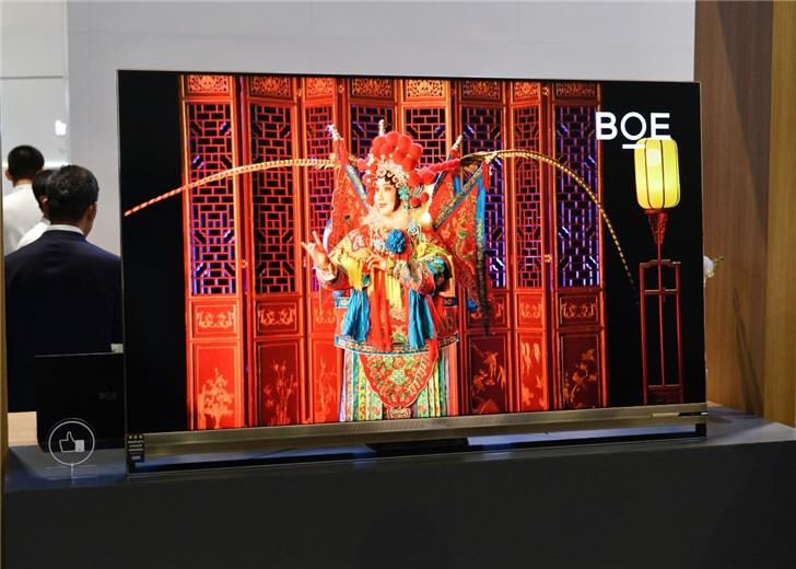 京东方展出Micro-OLED屏:0.39英寸,全球最高5644 PPI